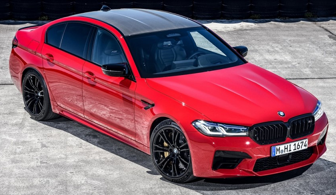 BMW M5 2021 With Sporty Look